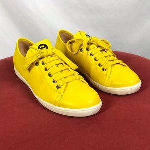 Longchamp size 38 Tennis le Pliage Cuir sneakers